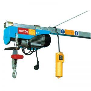 Palăng điện mini MB200, cần trục điện